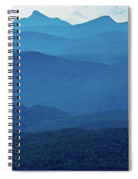 Table Rock And Hawksbill  Mountain - Linville North Carolina - Blue Ridge Parkway Spiral Notebook