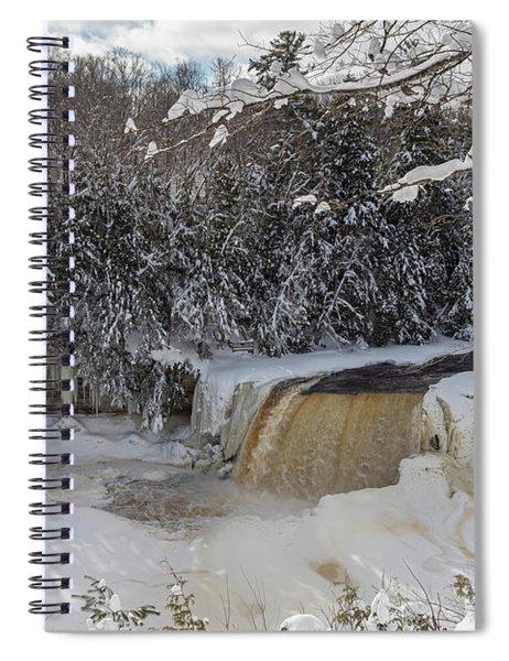 Tahquamenon Falls Spiral Notebook