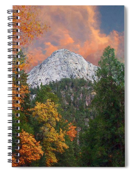 Tahquitz Peak - Lily Rock Painted Version Spiral Notebook