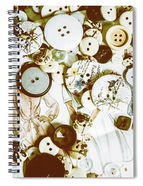 Tailors Textiles Spiral Notebook