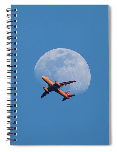 Takeoff At Sunset Spiral Notebook