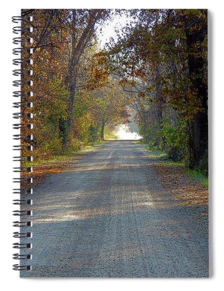 Taking Me Back Spiral Notebook