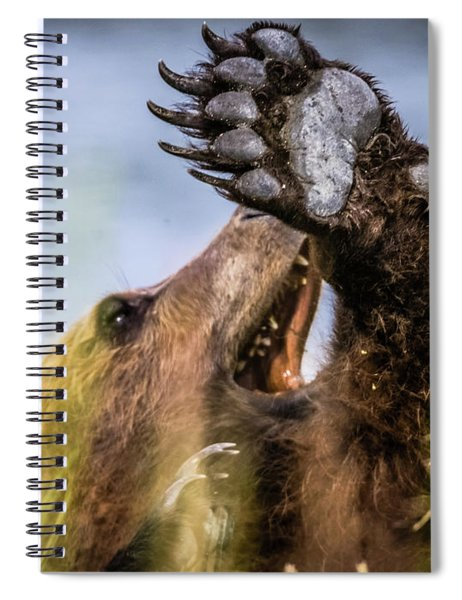 Talk To The Hand Spiral Notebook
