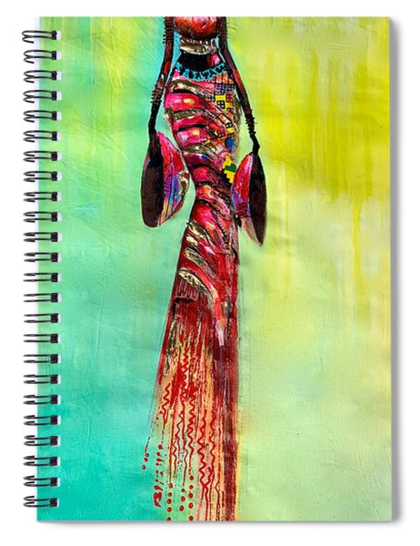 Tall Lady Spiral Notebook