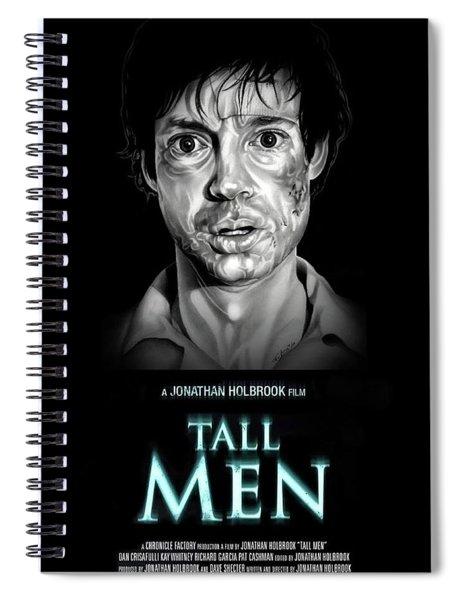 Tall Men Customer 52 Spiral Notebook