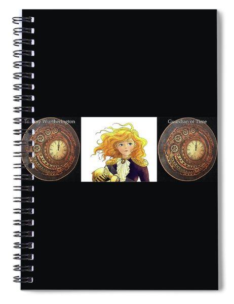 Tammy Wurtherington Guardian Of Time Spiral Notebook
