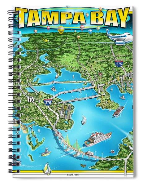 Tampa Bay 2019 Spiral Notebook