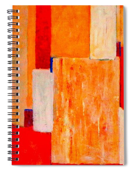 Tangerines Abstract Spiral Notebook