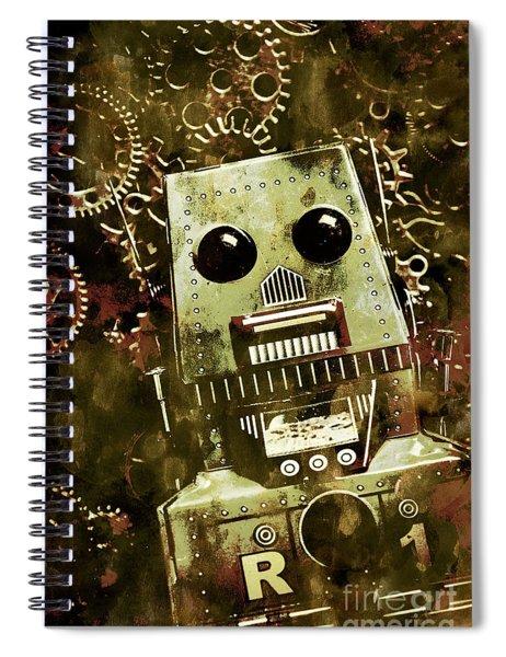 Tanker The War Mech Spiral Notebook