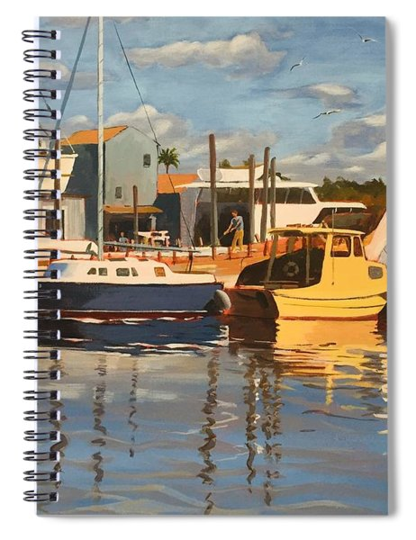 Tarpon Springs Harbour Spiral Notebook
