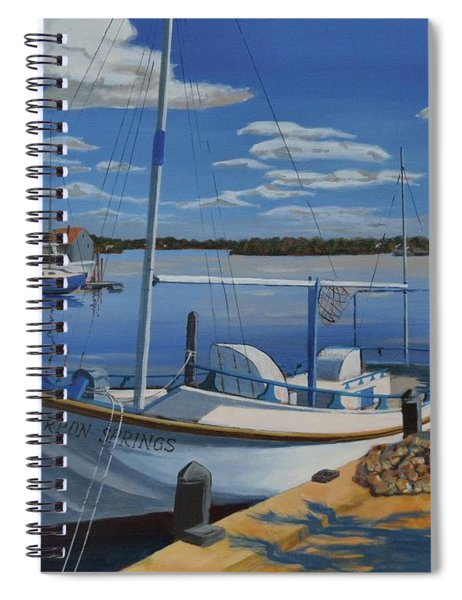 Tarpon Springs Sponger Spiral Notebook