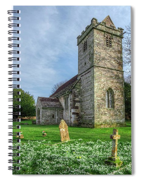 Tarrant Crawford - England Spiral Notebook