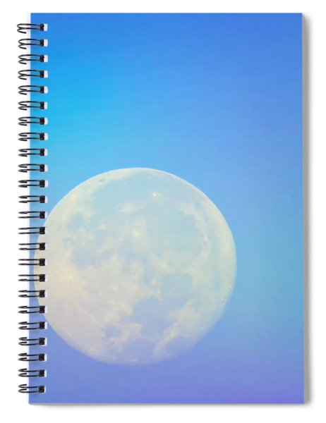 Taurus Almost Full Moon Blend Spiral Notebook