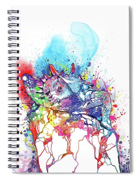 Tcu Horned Frog Fort Worth Spiral Notebook