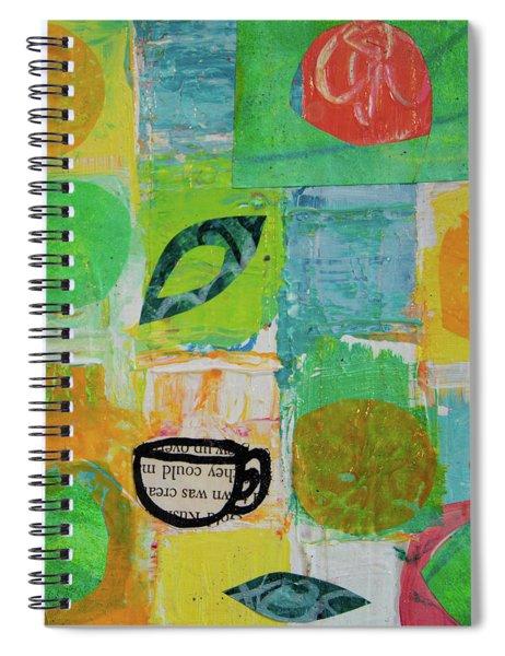 Tea Box 2 Spiral Notebook