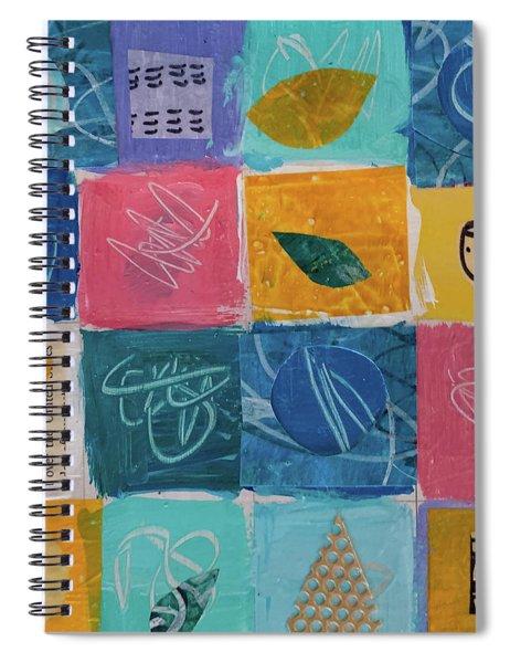 Tea Box One Spiral Notebook