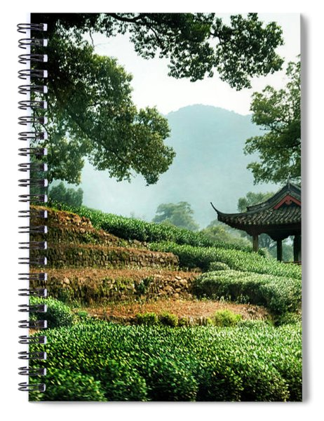 Tea Plantation Spiral Notebook
