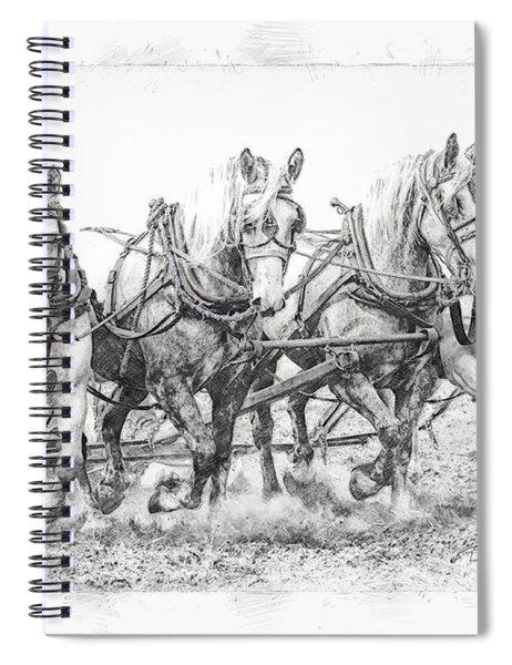 Team Work 2 Spiral Notebook