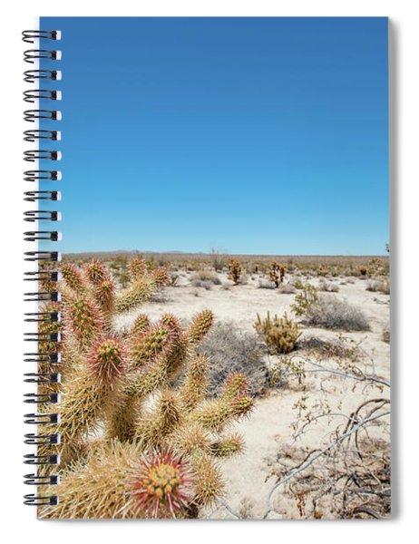 Teddy Bear Cactus Spiral Notebook