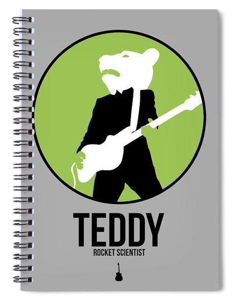 Teddybear Spiral Notebook