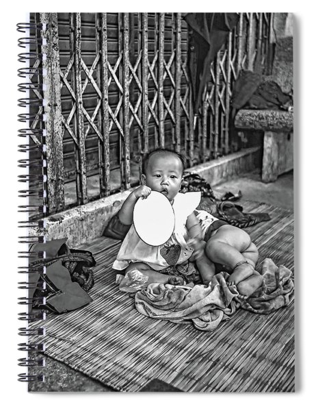 Teething Toy Bw Spiral Notebook