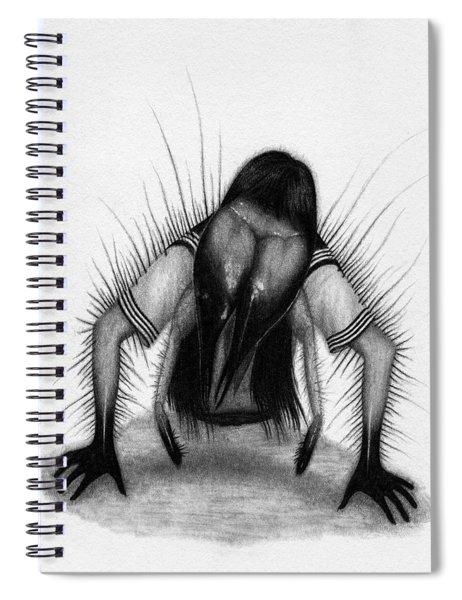 Teke Teke - Artwork Spiral Notebook