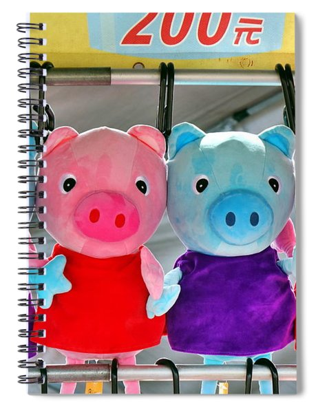 Television Animation Character Merchandise Spiral Notebook