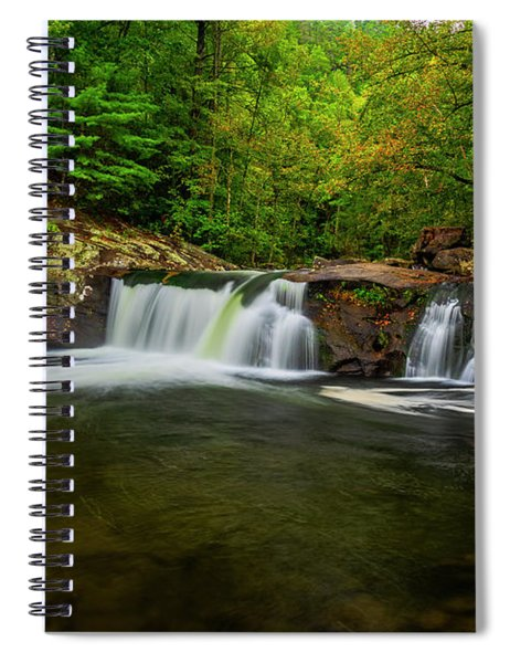 Tellico River Baby Falls Spiral Notebook