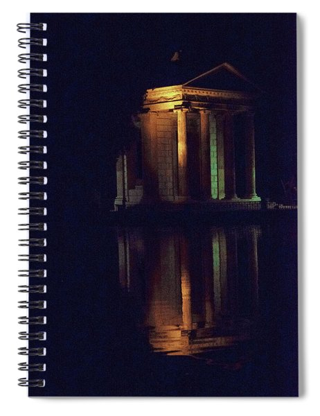 Temple Of Asclepius Spiral Notebook