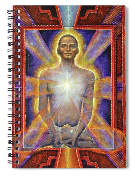 Temple Of The Soul Spiral Notebook
