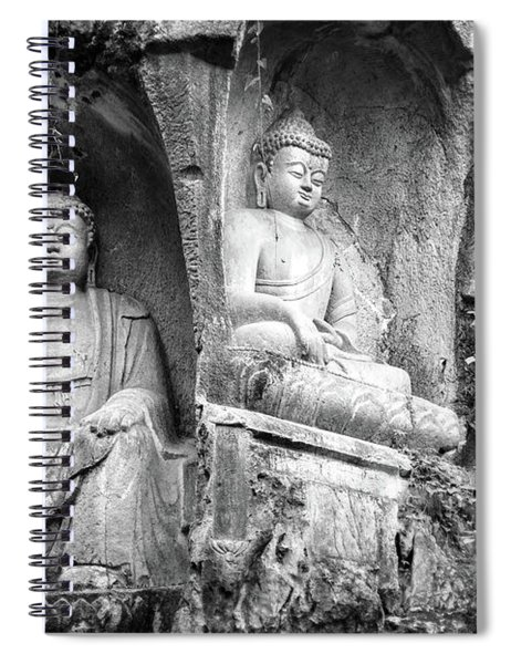 Temple Of The Soul's Retreat Spiral Notebook