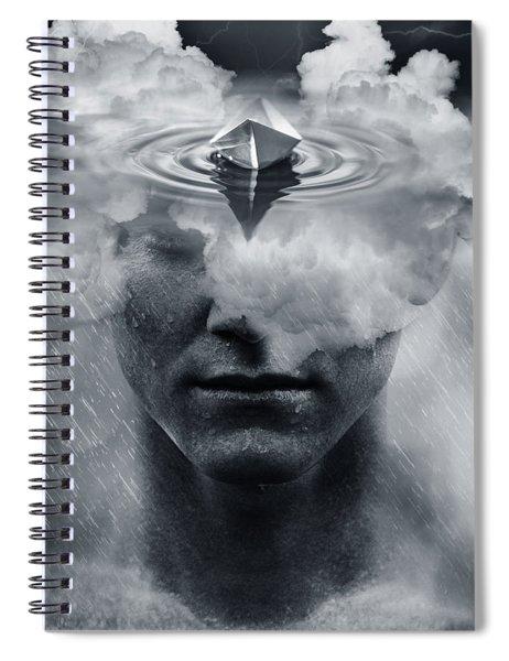 Temporary Rain Spiral Notebook