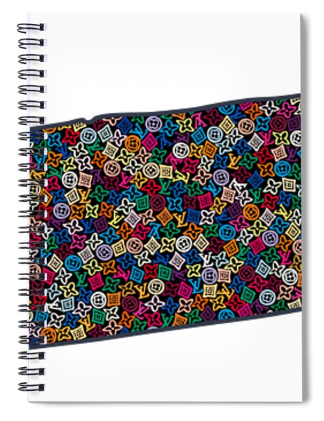 Tennessee Map - 1 Spiral Notebook