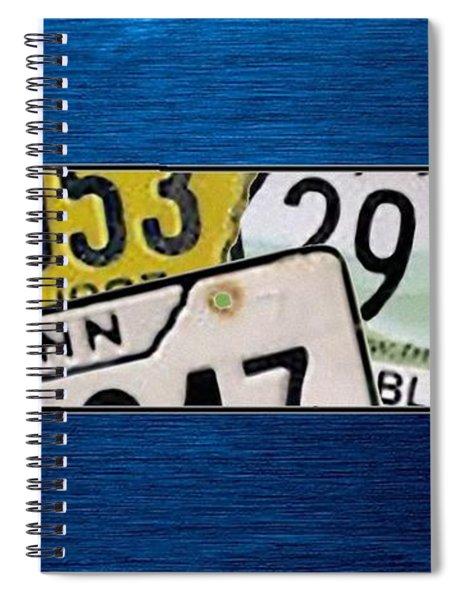 Tennessee Spiral Notebook