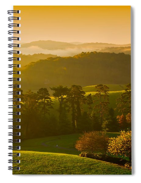 Smokey Mountain Sunrise Spiral Notebook