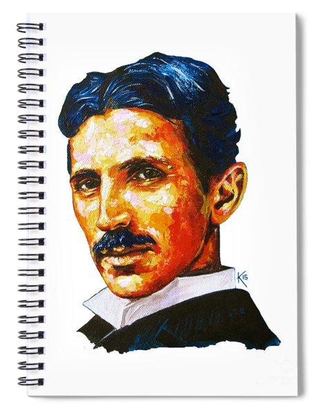 Tesla - Pure Genius Spiral Notebook