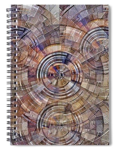 Test Pattern Spiral Notebook