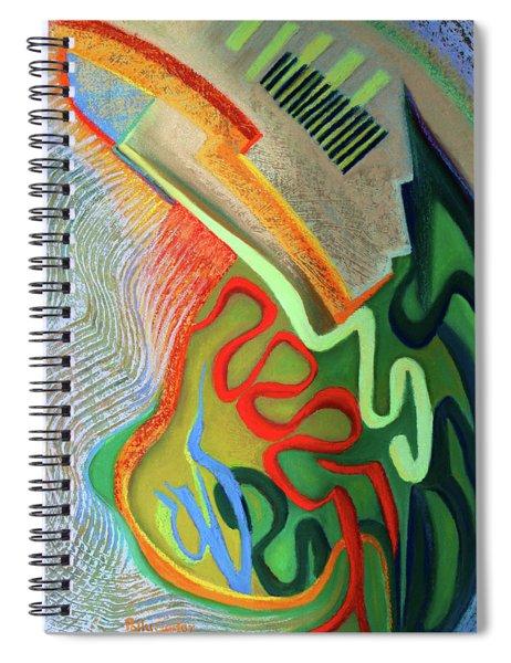 Testosterone  Spiral Notebook