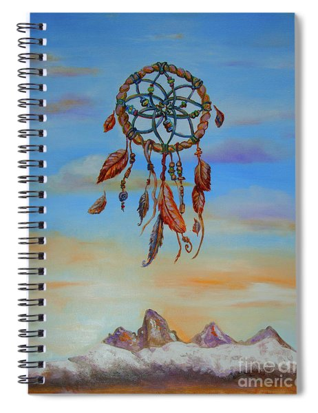 Teton Dreamcatcher Spiral Notebook