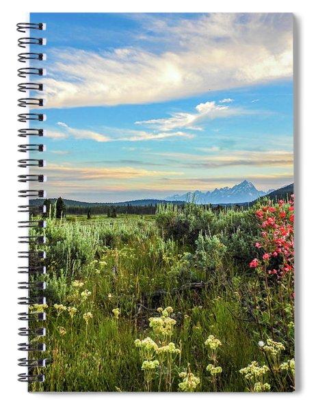 Teton Sunest Spiral Notebook