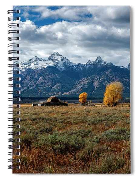 Tetons And Mormon Row Spiral Notebook