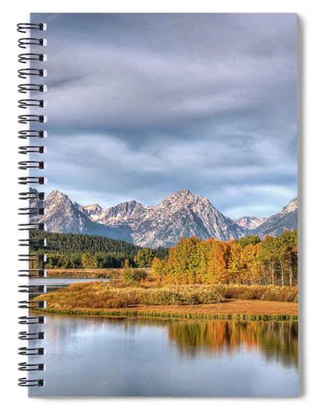 Tetons And Snake River Spiral Notebook