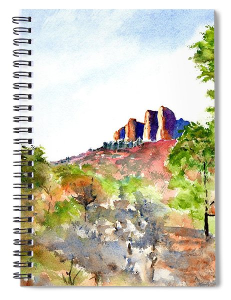 Texas Big Bend Casa Grande Peak Spiral Notebook