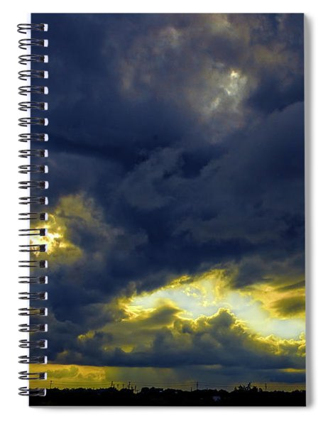 Texas Hill Country Storm Spiral Notebook