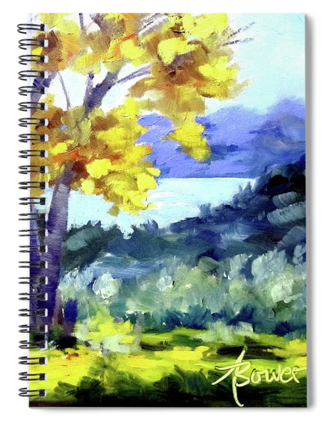 Texas Hillcountry Fall  Spiral Notebook