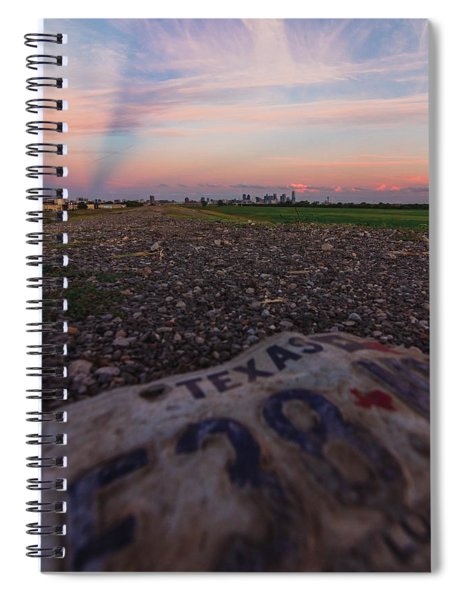 Texas Tags Spiral Notebook