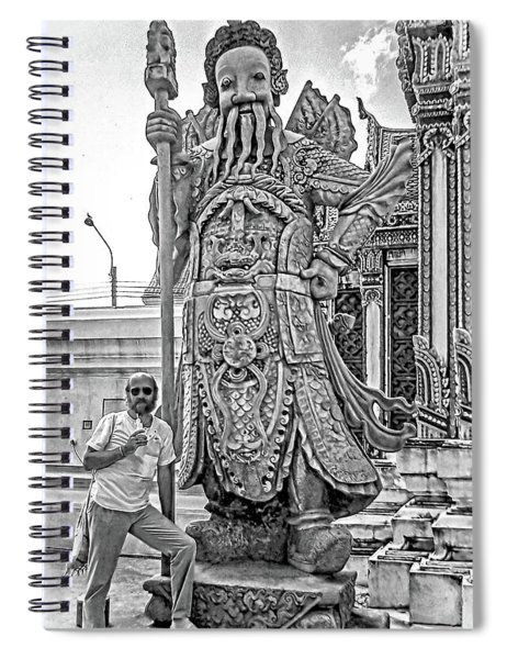 Thai Bodyguard Bw Spiral Notebook
