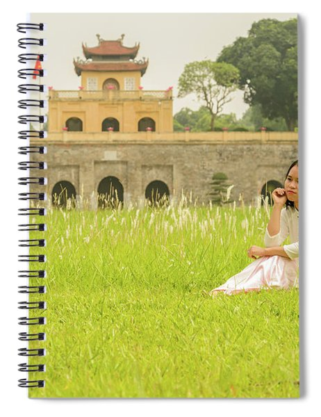 Thang Long Imperial Citadel 02 Spiral Notebook