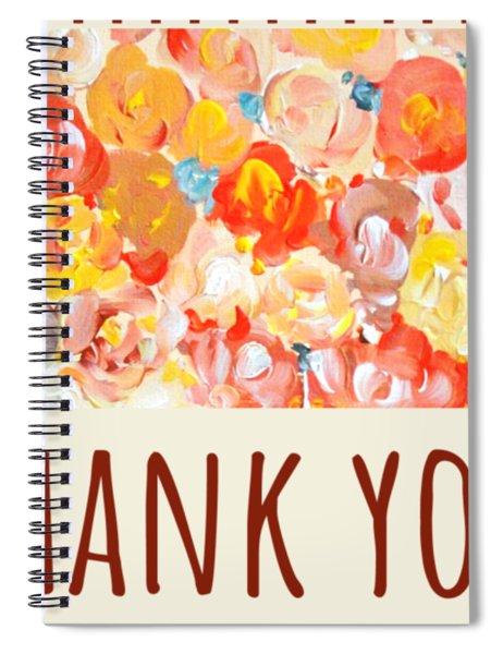 Thank You #2 Spiral Notebook