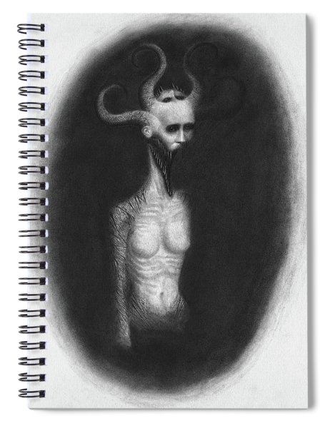 That Which Feasts On The Seventh Night - Artwork Spiral Notebook